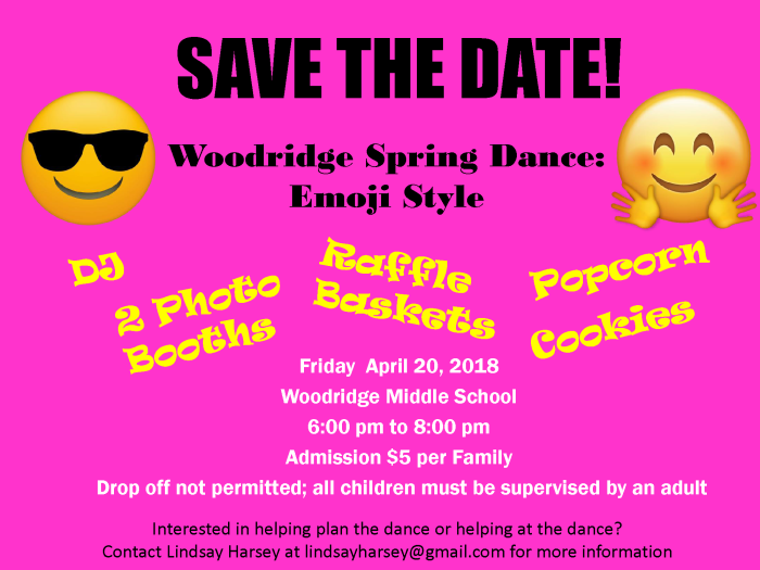 2018 Spring Dance Save the Date 2.28.18